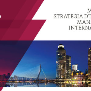 Master in Strategia d'impresa e management internazionale 2018-19